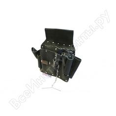 Пояс-сумка для инструментов lucky guy универсал кожаная, цвет черный 03 005lg