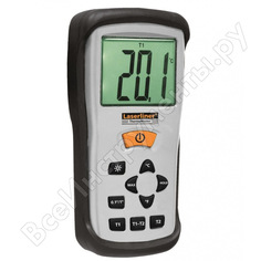Контактный электронный термометр laserliner thermomaster 082.035a