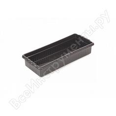 Ящик для цветов радиан м, черный 4607168310369