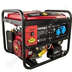 Бензиновый генератор dde g650e3 917-446