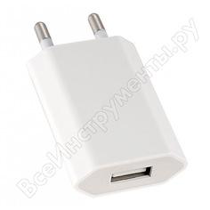 Сетевое зарядное устройство perfeo с разъемом usb 1а тип 1 i4605 30004462
