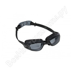 Очки для плавания bradex комфорт+, черные, цвет линзы - прозрачный sf 0388