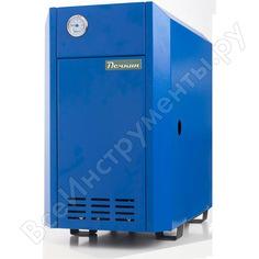 Газовый напольный котел печкин ксг-12,5 синий, с авт. tgv-307