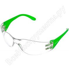 Защитные открытые очки росомз о17 hammer active strongglassтм pc 11737