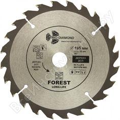 Диск пильный по дереву (165х20 мм; 24т) trio-diamond fll818