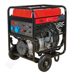 Электростанция бензиновая с электростартером и коннектором автоматики fubag bs 11000 a es 838789