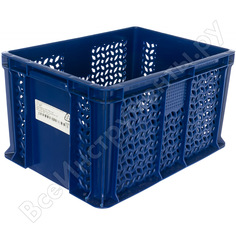 Ящик тара 400х300х230 мм, синий 18645
