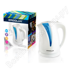 Чайник ergolux elx-kp03-c35 бело-голубой 13115