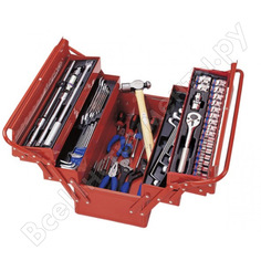 Универсальный набор инструментов (раскладной ящик, 65 предметов) king tony 902-065mr01