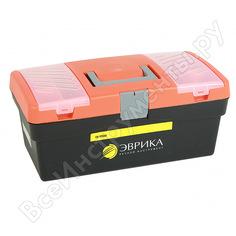 Универсальный ящик с лотком и 2 органайзерами на крышке эврика 420х220х180мм er-10339