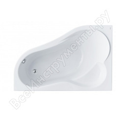 Ванна santek ибица 150х100 асиметричная, акриловая, левосторонняя 1.wh11.2.034, 00000061350