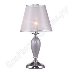 Настольная лампа rivoli 2046501 avise p1 хром e14 40w б0044374