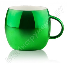 Кружка asobu sparkling mugs 0.38л, зеленая mug 550 green