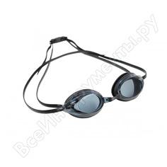 Bradex очки для плавания, серия спорт, черные, цвет линзы - серый sf 0396