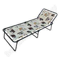 Металлическая раскладная кровать кемпинг olsa надин с752