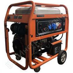 Бензиновый генератор zongshen pb 18003 e 1t90df181