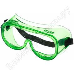 Защитные закрытые очки росомз зп8 эталон рс 30811 с прямой вентиляцией