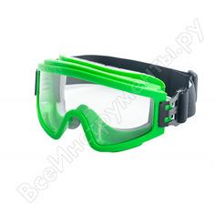 Защитные закрытые очки росомз зн11 panorama strongglassтм pc 24137 с непрямой вентиляцией
