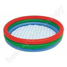 Детский круглый бассейн bestway, 102х25 см, 62 л 51104 bw