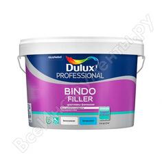 Финишная колеруемая безусадочная шпаклевка под покраску и обои 5 кг dulux bindo filler 5319758