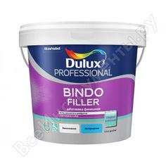 Финишная колеруемая безусадочная шпаклевка под покраску и обои 1,5 кг dulux bindo filler 5319761