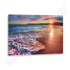 Картина на стекле декоретто море в закате gs 8039 декор