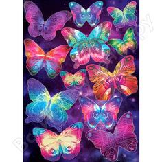 Наклейка декоретто таинственные бабочки ai 4003 декор