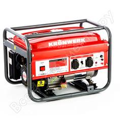 Бензиновый генератор kronwerk lk 2500,2,2 квт, 220в, бак 15 л 94687