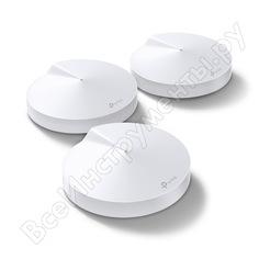 Бесшовный mesh роутер tp-link deco m5 ac1300 10/100/1000base-tx белый упак.:3шт deco m53-pack