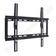 Кронштейн kromax для led/lcd/plasma телевизоров 22-65 max 50кг ideal-3 black