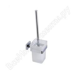 Ершик для унитаза swes gamma для ванной/туалета, подвесной с держателем, матовое стекло ac6010