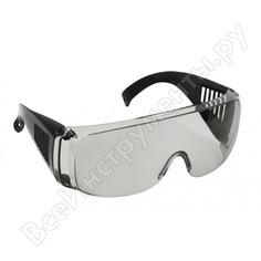 Защитные очки с дужками champion дымчатые c1007