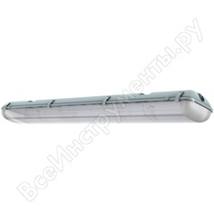 Светодиодный светильник eslight x2 34 вт-5000к-прозрачный ip65 1280х135х105мм 4400лм es2103450