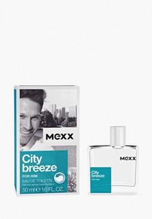 Туалетная вода Mexx City Breeze Man, 50 мл