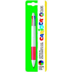 Шариковая ручка Carioca 4 Colors