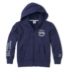 Детская толстовка T4C Full-Zip Hoodie Puma