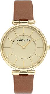 Женские часы в коллекции Leather Женские часы Anne Klein 3696CHHY