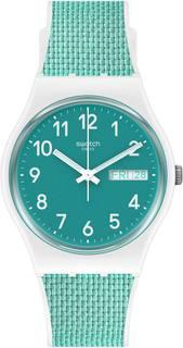Швейцарские женские часы в коллекции Classic PVD Extensions Женские часы Swatch GW714