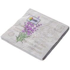 Салфетки бумажные Лаванда Y4-3036 I.K 20 шт, 33х33 см