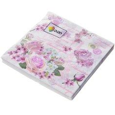 Салфетки бумажные Розы Y4-3040 I.K 20 шт, 33х33 см