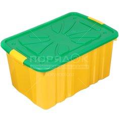 Ящик для игрушек Полимербыт 301, 60х40х30 см