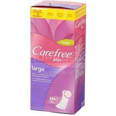 Прокладки Carefree Plus Large ежедневные ароматизированные, 20 шт