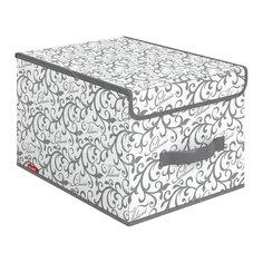 Кофр Valiant CG-BOX-LM серый, 30х40х25 см
