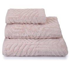 Полотенце банное, 70х140 см, Cleanelly Торт бежевый, 460 г/кв.м, ПЦС-701-4076