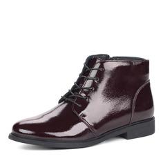 Ботинки Лакированные ботинки в бордовом цвете Respect