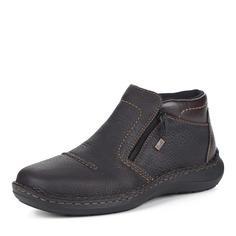 Ботинки Коричневые ботинки без шнуровки Rieker