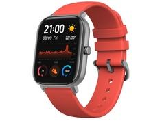 Умные часы Xiaomi Huami Amazfit GTS A1914 Vermillion Orange Выгодный набор + серт. 200Р!!!