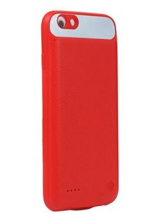 Чехол-аккумулятор XO для APPLE iPhone 6/6S Backpack PB-12 2500mAh Red 912920