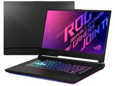 Ноутбук ASUS ROG G512LV-HN034 90NR04D1-M02140 (Intel Core i7-10750H 2.6GHz/16384Mb/1000Gb SSD/nVidia GeForce RTX 2060 6144Mb/Wi-Fi/15.6/1920x1080/No OS)