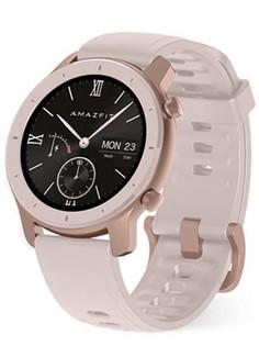 Умные часы Xiaomi Amazfit GTR 42mm Cherry Blossom Pink Выгодный набор + серт. 200Р!!!